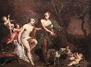 AMIGONI, Jacopo Venus and Adonis uj oil painting