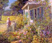 Abbott Fuller Graves Summer Garden oil painting