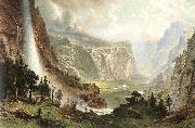 Albert Bierstadt The Domes of the Yosemites oil painting reproduction
