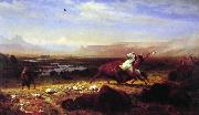 Albert Bierstadt The Last of the Buffalo oil painting reproduction