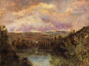 Albert Lebourg Edge of the Ain River oil painting