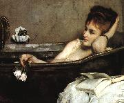 Alfred Stevens The Bath (san06) oil painting
