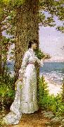 Alfred Thompson Bricher Under The Seaside Tree oil painting