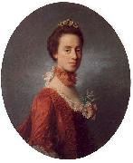 Allan Ramsay Lady Robert Manners oil painting