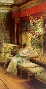 Alma Tadema Vain Courtship oil painting reproduction