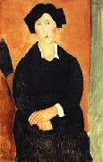 Amedeo Modigliani The Italian Woman oil painting reproduction