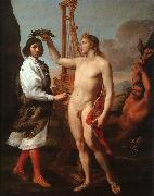 Andrea Sacchi Marcantonio Pasquilini Crowned by Apollo oil painting