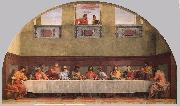 Andrea del Sarto The Last Supper ffgg oil painting reproduction