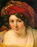 Anne-Louis Girodet-Trioson A Woman in a Turban oil painting