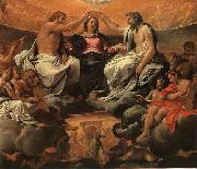 Annibale Carracci  The Coronation of the Virgin oil painting