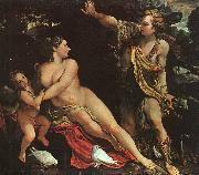 Annibale Carracci Venus, Adonis and Cupid oil painting