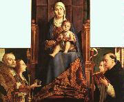 Antonello da Messina San Cassiano Altarpiece oil painting