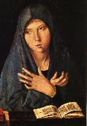 Antonello da Messina Virgin of the Annunciation oil painting
