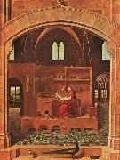 Antonello da Messina St.Jerome in his Study oil painting