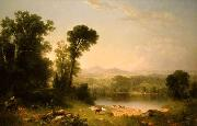 Asher Brown Durand Pastoral Landscape oil painting