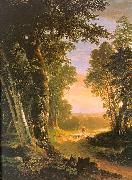 Asher Brown Durand The Beeches oil painting