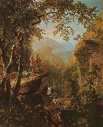 Asher Brown Durand Kindred Spirits oil painting