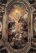 BACCHIACCA Apotheosis of the Franciscan Order  ff oil painting