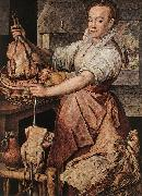 BEUCKELAER, Joachim The Cook soti oil painting