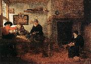 BREKELENKAM, Quiringh van Interior of a Tailor s Shop oil painting