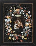 BRUEGHEL, Ambrosius Holy Virgin and Child oil painting