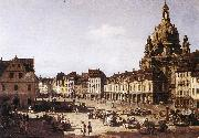 Bernardo Bellotto New Market oil painting