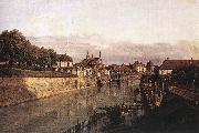 Bernardo Bellotto Zwinger Waterway oil painting