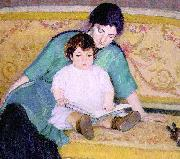 Bernhard Gutmann Mother and Baby Elizabeth oil painting