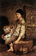 CERUTI, Giacomo Boy with a Basket oil painting