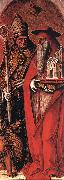 CRIVELLI, Carlo St Jerome and St Augustine dsfg oil painting