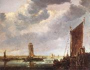 CUYP, Aelbert The Ferry Boat fg oil painting reproduction