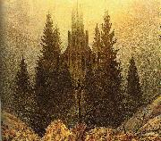 Caspar David Friedrich The Cross on the Mountain oil painting