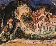 Chaim Soutine Landscape of Cagnes oil painting reproduction