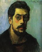 Charles Laval self-Portrait oil painting