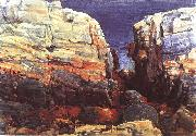 Childe Hassam The Gorge at Appledore oil painting