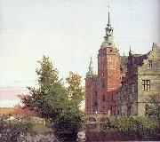 Christen Kobke Frederiksborg Castle seen from the Northwest oil painting
