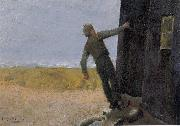 Christian Krohg Et Nodskudd oil painting