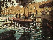 Claude Monet La Grenouillere oil painting reproduction