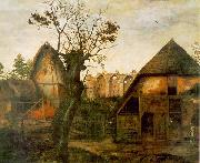 Cornelis van Dalem Landscape oil painting reproduction