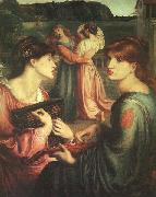 Dante Gabriel Rossetti The Bower Meadow oil painting reproduction