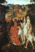 Dieric Bouts The Way to Paradise oil painting