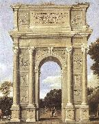 Domenichino A Triumphal Arch of Allegories dfa oil painting