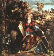 Dosso Dossi Circe oil painting