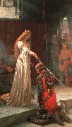 Edmund Blair Leighton The Accolade oil painting