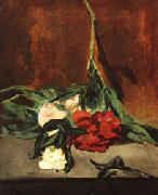 Edouard Manet Peony Stem and Shears oil painting reproduction