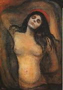 Edvard Munch Madonna oil painting