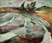 Edvard Munch The Wave oil painting