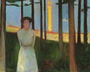 Edvard Munch Summer Night's Dream oil painting