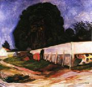 Edvard Munch Summer Night at Aasgaardstrand oil painting