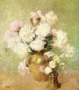 Emil Carlsen Peonies oil painting reproduction